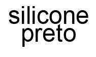 Silicone-Preto