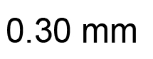 0.30mm