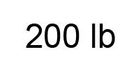 200lb