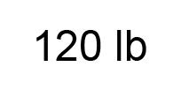 120lb