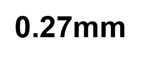 0.27mm