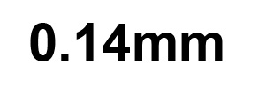 0.14mm