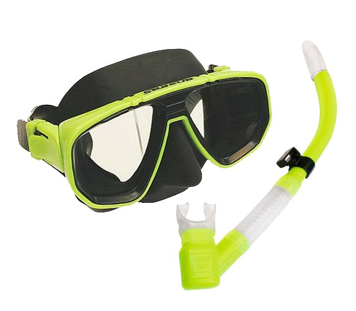 Kit Dua Pró + Snorkel Aero Pro Seasub-Maresolonline.com.br
