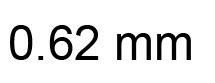 0.62mm