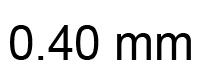 0.40mm