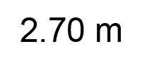 2.70m