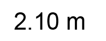 2.10m
