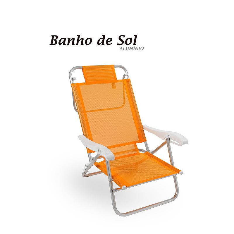 Cadeira Banho de Sol Zaka