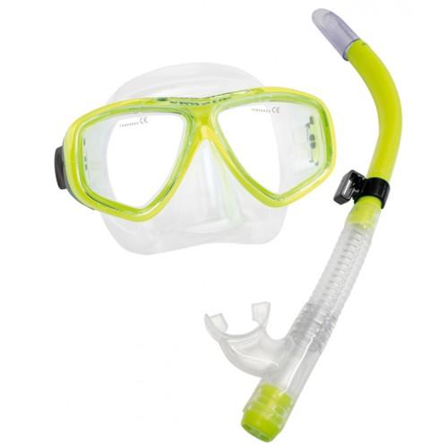 Kit Splenda C/ Snorkel com Válvula e Quebra Ondas Seasub-maresolonline.com.br